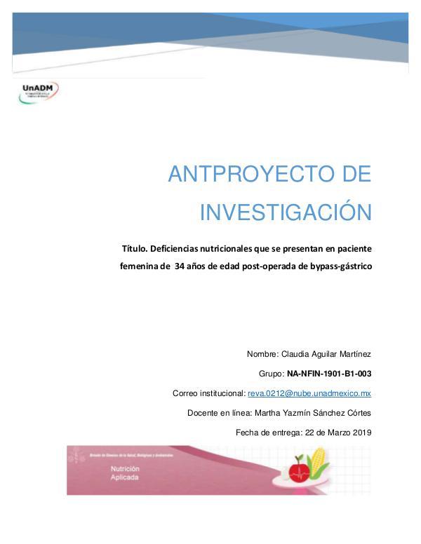 Unidad 5 Anteproyecto de Investigación FIN_U5_EA_CLAM_anteproyectodeinvestigacion