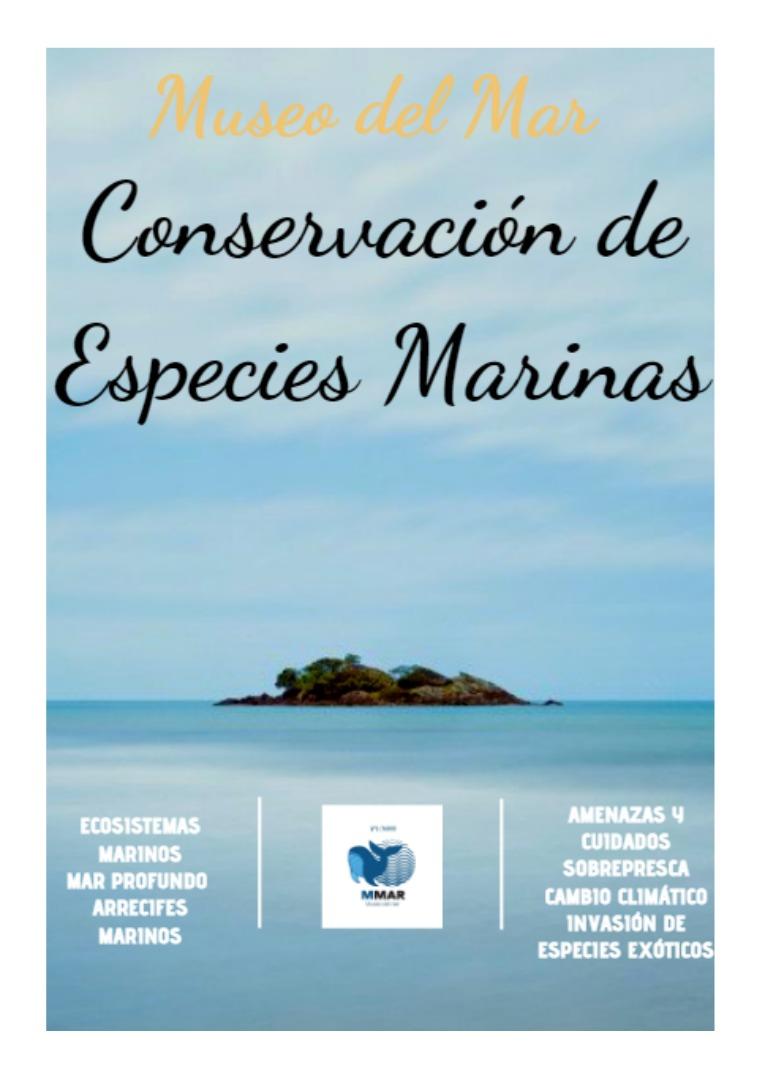 Conservación de Especies Marinas Conservación de Especies Marinas