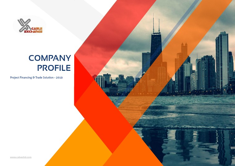 COMPANY PROFILE - Finance 2019