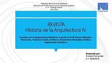 HISTORIA DE LA ARQUITECTURA IV