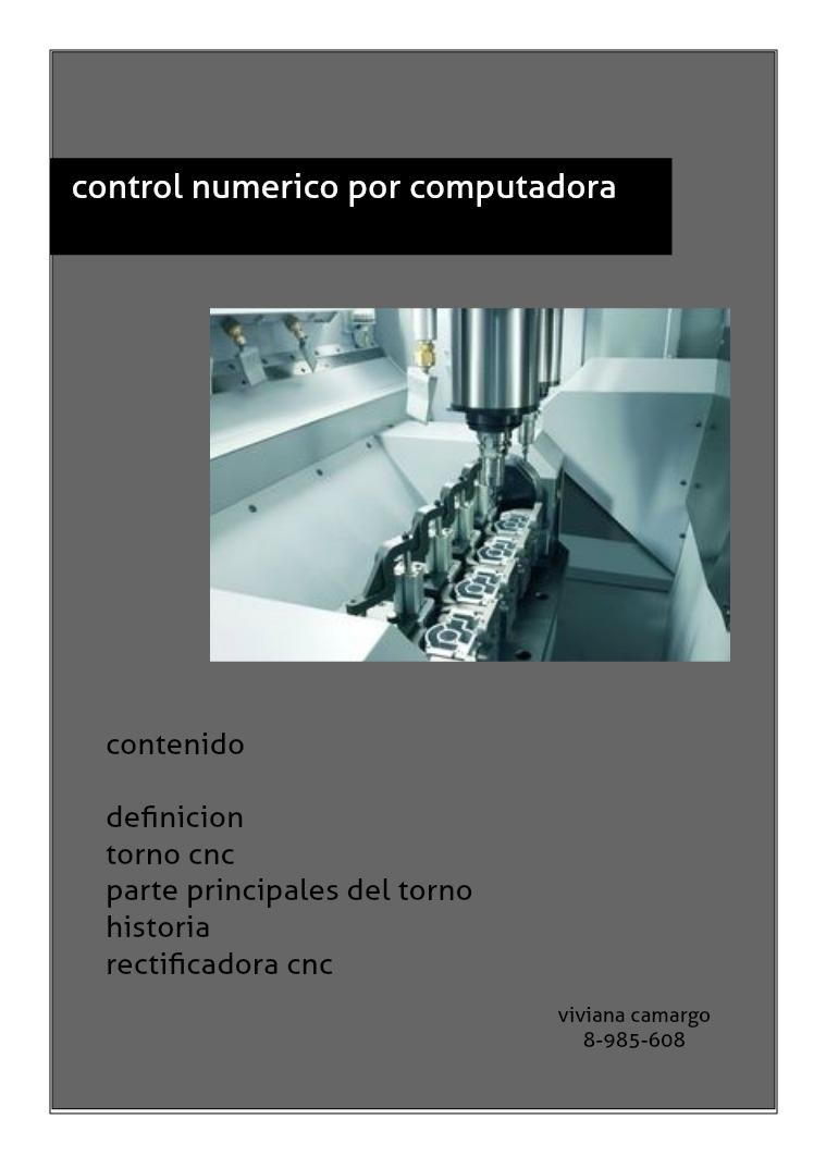 maquina de control numerico computarizado mecanizado cnc