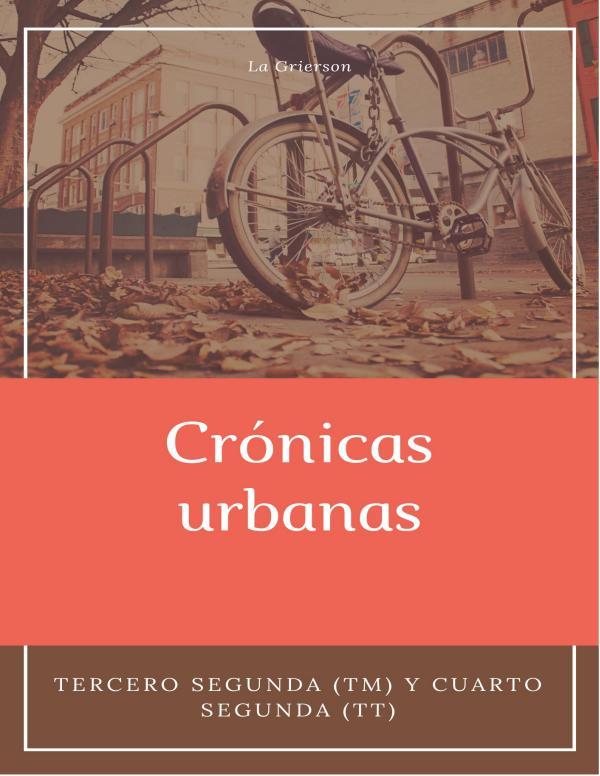 La crónica urbana