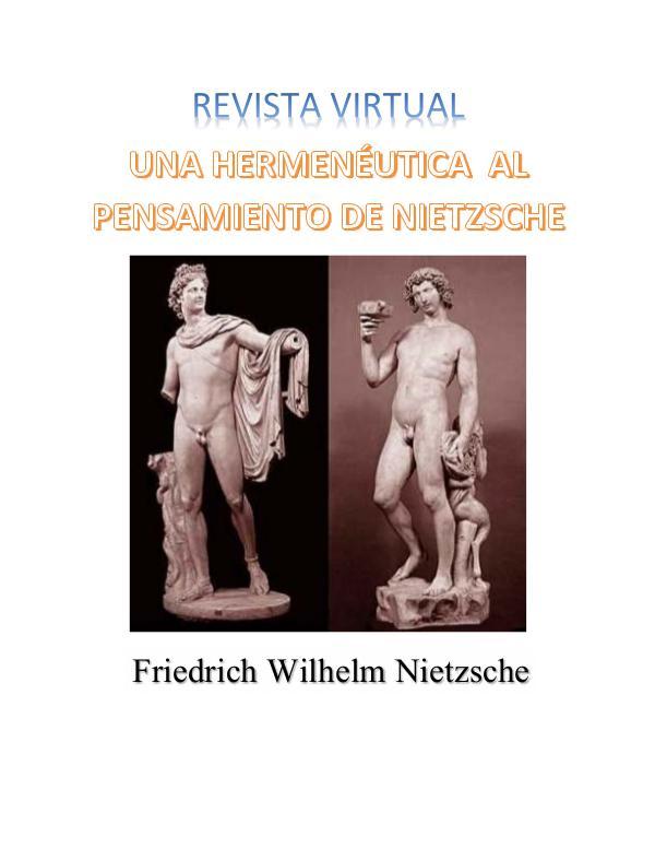 UNA HERMENÉUTICA  AL PENSAMIENTO DE NIETZSCHE Revista Virtual_C