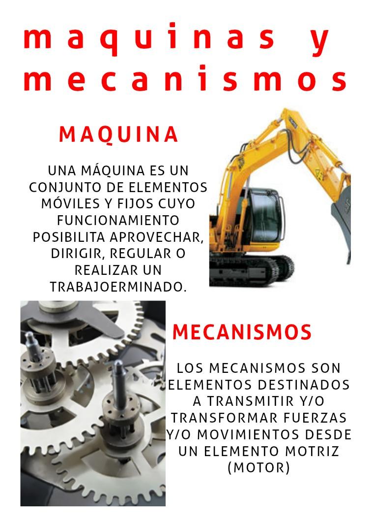 maquinas y mecanismos maquinas y mecanismos