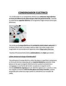 Diodos y Condensadores