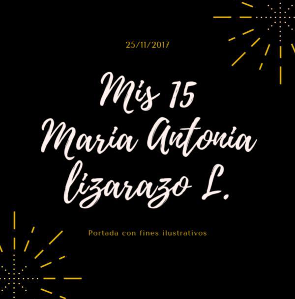 Photobook 15 Años Maria Antonia 15 Maria Antonia
