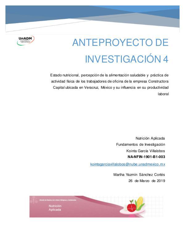 Mi primera publicacion FIN_U5_EA_KOGV_anteproyectodeinvestigacion
