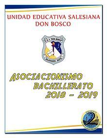 Revista Asociacionismo Bachillerato 2019