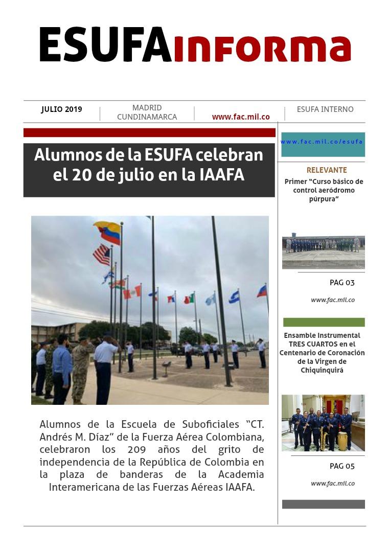 ESUFAinforma JULIO Segunda edición mes de Julio , ESUFAinforma