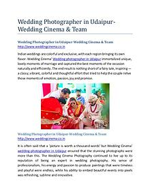 Pre-Wedding Photographer in Udaipur-Wedding Cinema