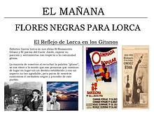 El refeljo de Lorca en los gitanos.