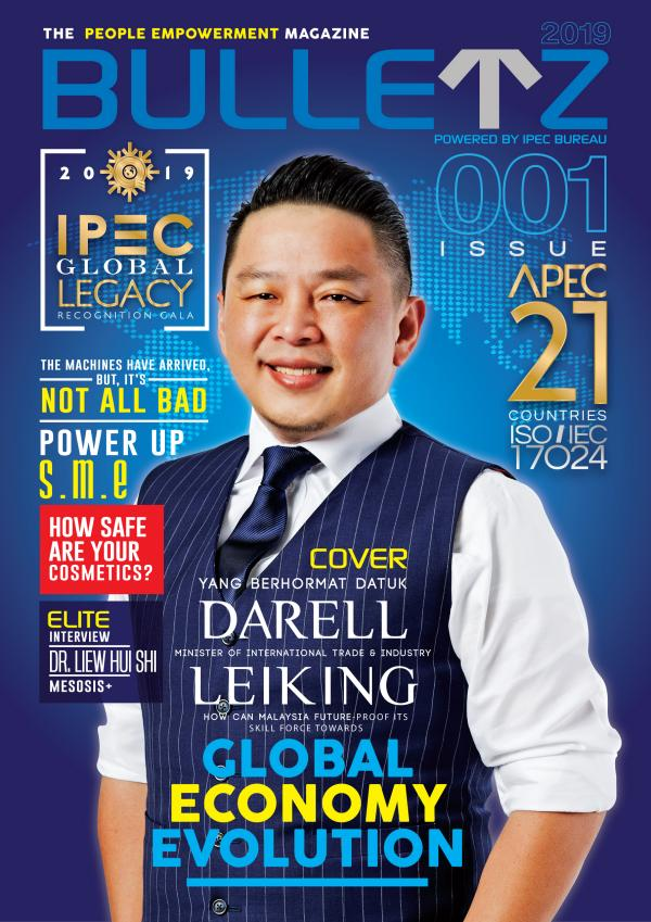 BULLETZ - ISSUE 001 2019 001 The World's 1st People Empowerment E-magazine