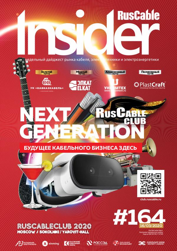 RusCable Insider #164 - 16.03.2020