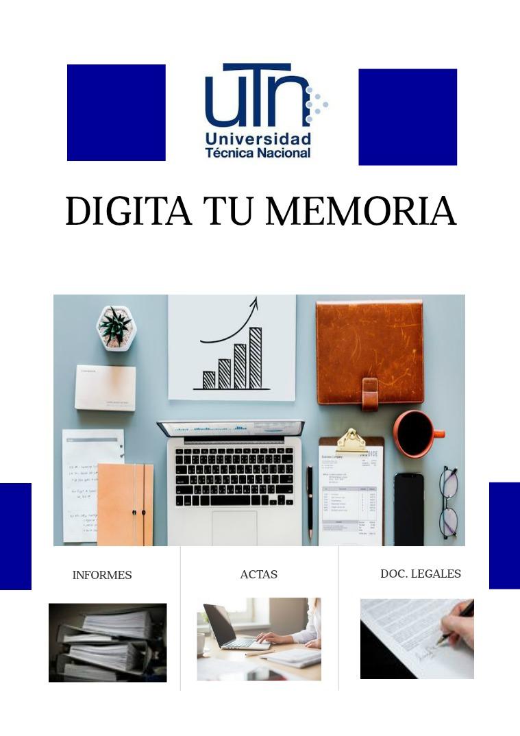 Memoria Curso Digitación III Memoria Digitación III