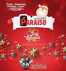 Folleto Navidad Almacenes Paraíso