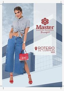 ROTEIRO DE COMPRAS - MASTER SHOPPING DE BRUSQUE