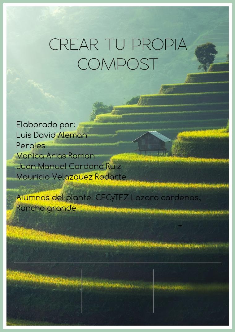 crea tu propia compost casera crea compst casera