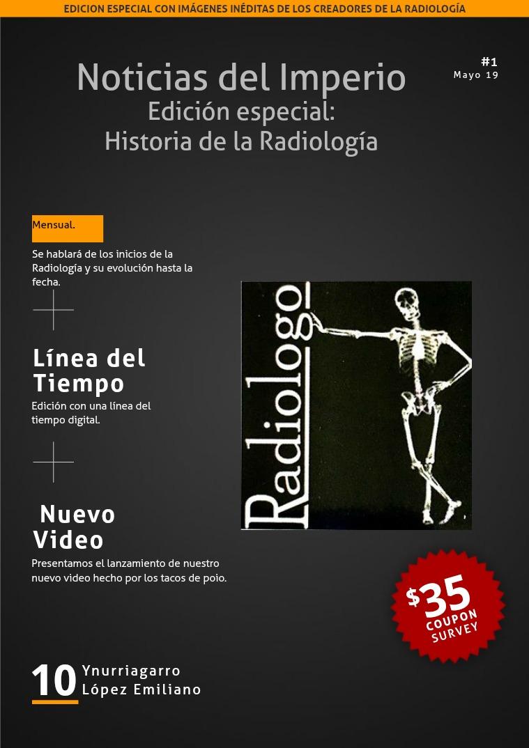 Radiología pal año que viene. 1