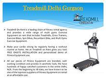 Treadmill Delhi Gurgaon