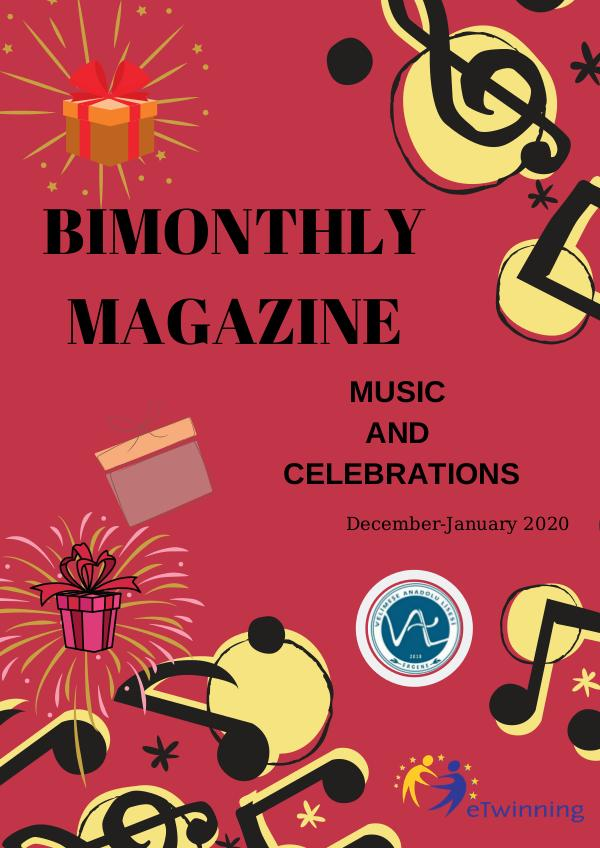 Bimonthly Magazine December-January Issue December JAnuary İssue