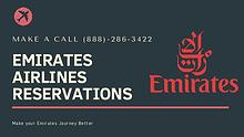 Emirates Airlines Reservations