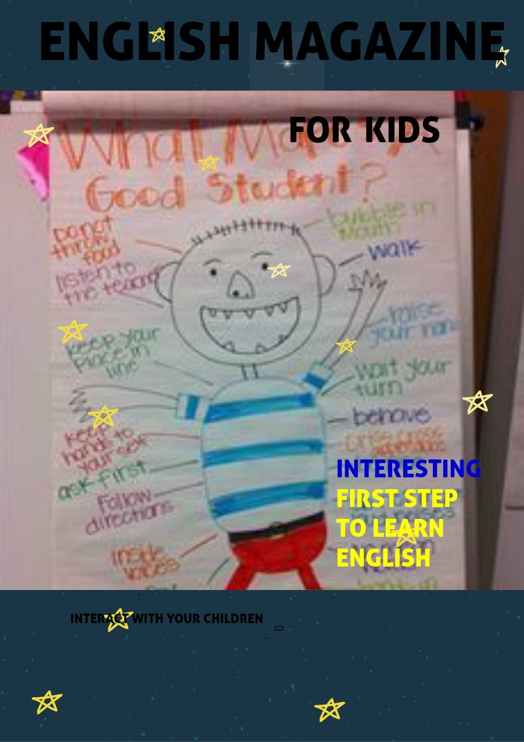 English Education for Child Exist different vocabulary in english