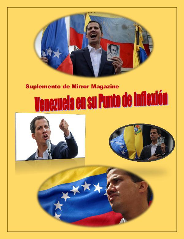 Mi primera publicacion Suplemento VenezuelaGuaidó