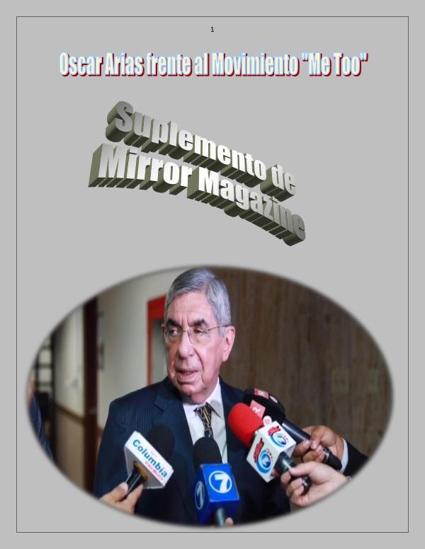 Arias y su enfermedad sexual Suplemento Oscar Arias