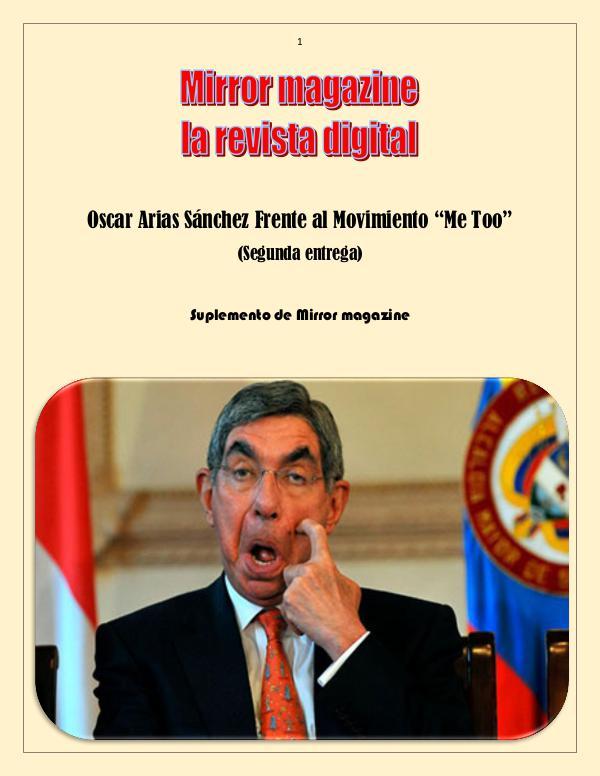 Arias Sánchez #2 Oscar Arias Sánchez suplemento