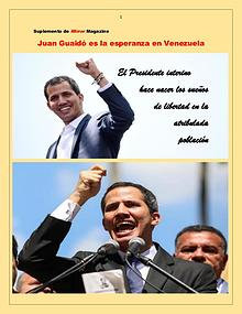 Guaidó es la esperanza de Venezuela