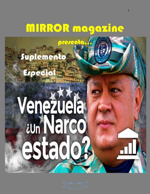 Venezuela Narcoestado Suplemento Venezuela Narcoestado