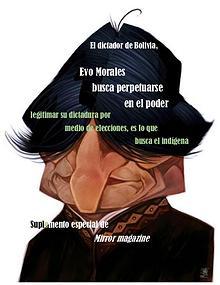 Evo Morales busca perpetuidad en el poder