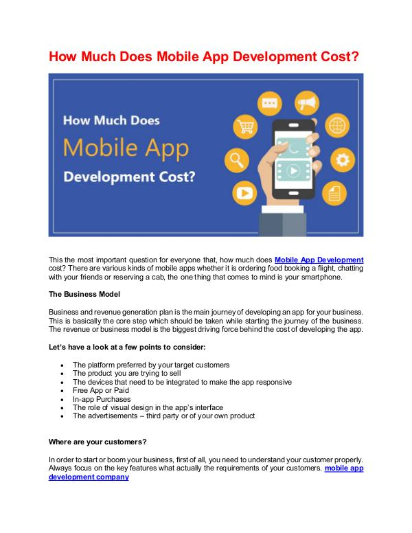 How does digital marketing help for your online business growth? How Much Does Mobile App Development Cost