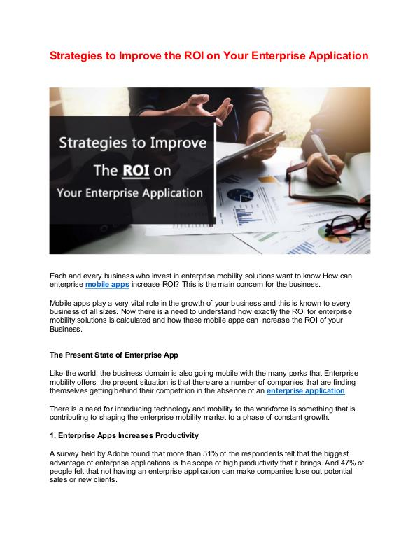 How does digital marketing help for your online business growth? Strategies to Improve the ROI on Your Enterprise A