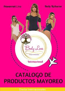Catalogo Body Love Internacional