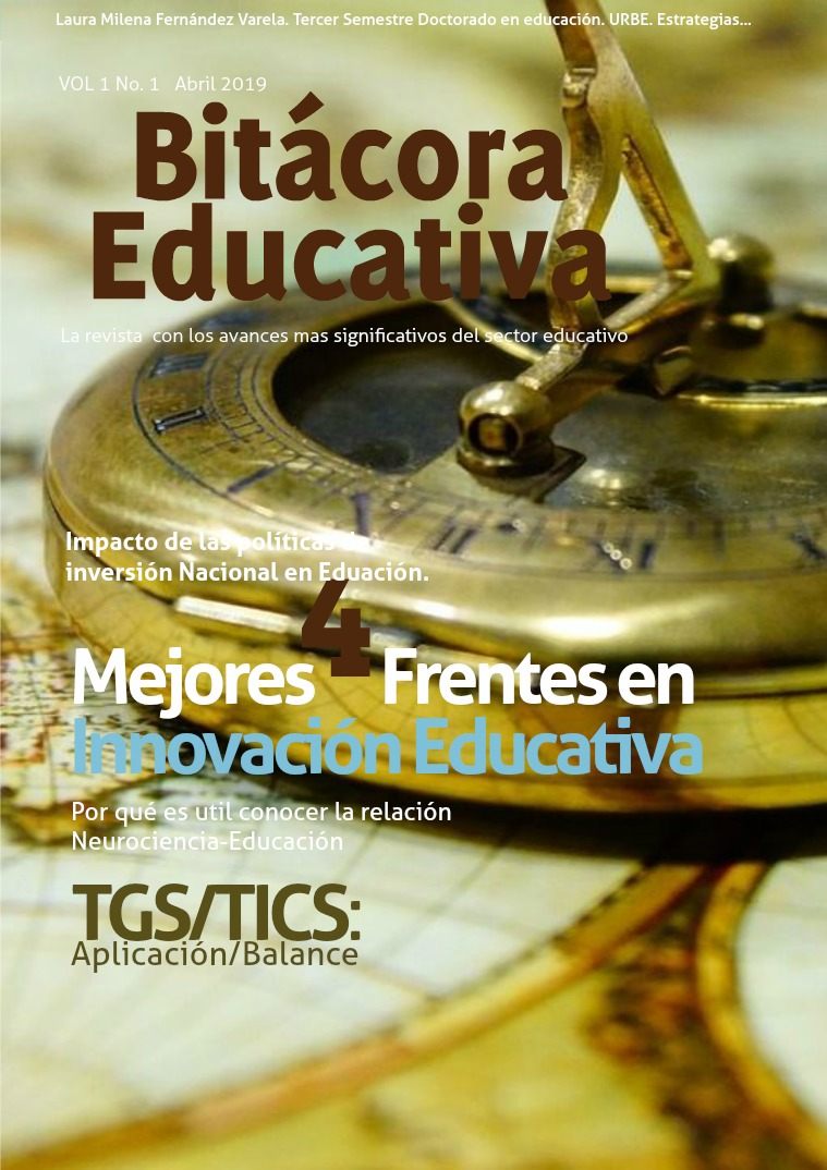 Revista Bitácora Educativa Volumen 1