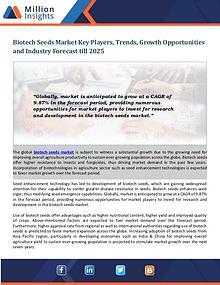 Biotech Seeds Market