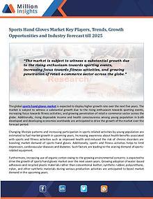 Sports Hand Gloves Market