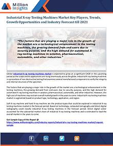 Industrial X-ray Testing Machines Market