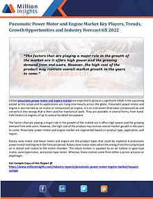 Pneumatic Power Motor and Engine Market