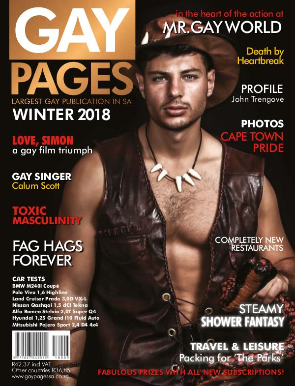 Gay Pages Edition 86 (2018)