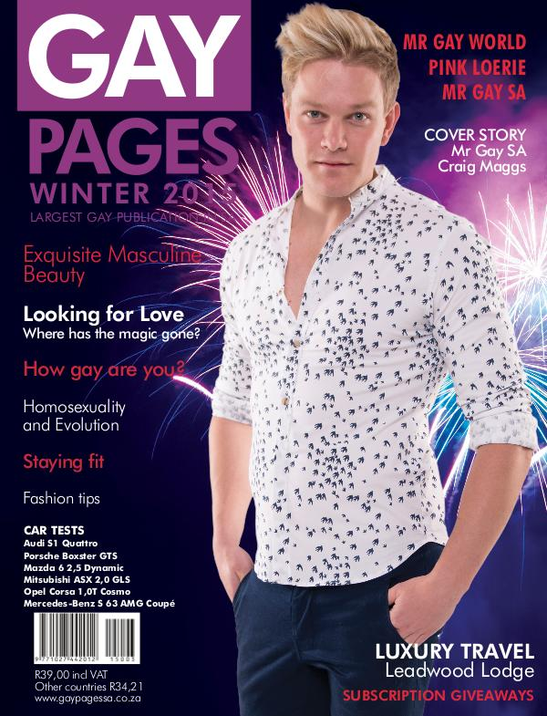Gay Pages Edition 71 (2015)