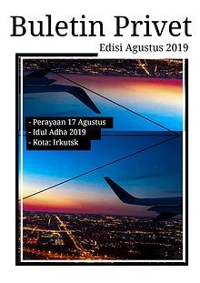 Buletin Privet Edisi Agustus 2019