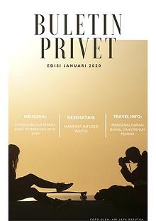 Buletin Privet Edisi Januari  2020