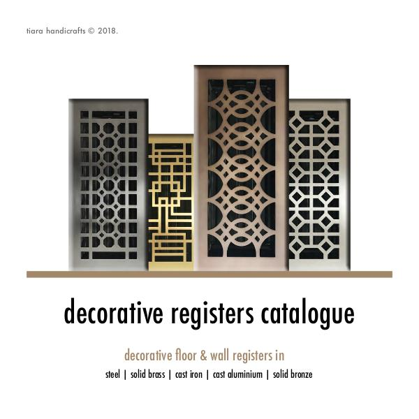 Floor Registers © Catalogue 2019 Tiara Register Catalogue