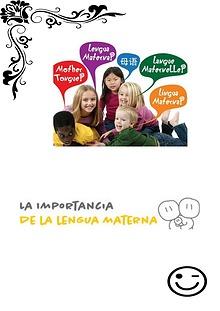 importancia de la lengua materna