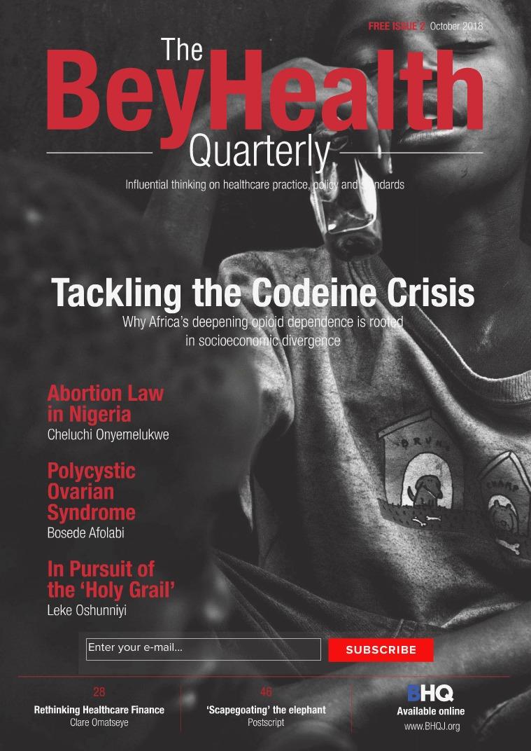 BeyHealth Quarterly Journal (BHQJ) BHQJ 2018: 001:2 (Oct. 2018)