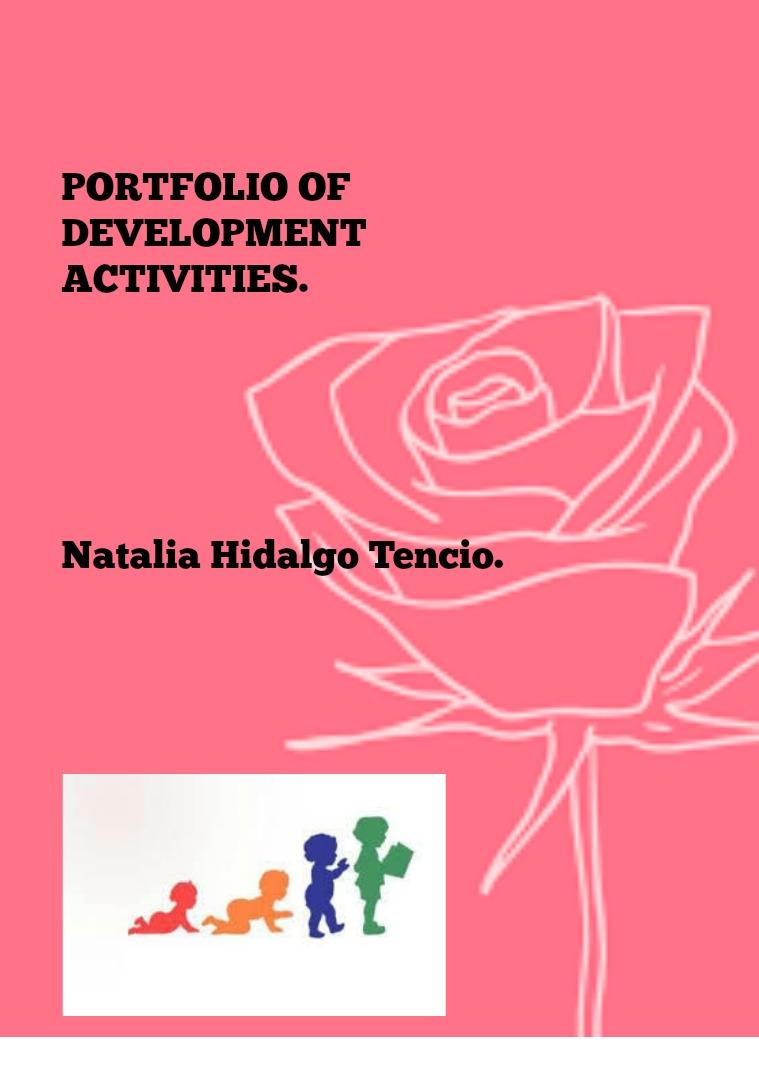 Portafolio De actividades