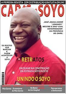 Primeira Edição da Revista Digital