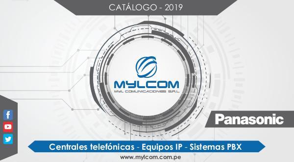 Mylcom Centrales Panasonic CATALOGO MYLCOM - 2019 (EQUIPOS Y CENTRALES TELEFO